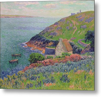 Port Manech Metal Print by Henry Moret