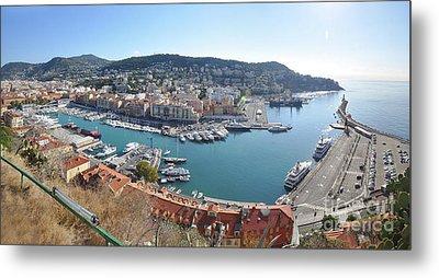 Port Nice Panorama Metal Print by Yhun Suarez
