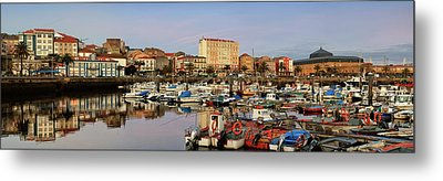 Metal Print featuring the photograph Port Of Ferrol Galicia Spain by Pablo Avanzini