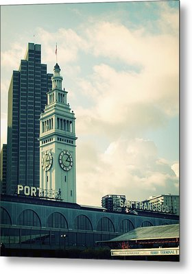 Port Of San Francisco Metal Print by Linda Woods