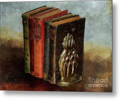 Metal Print featuring the digital art Portable Magic by Lois Bryan