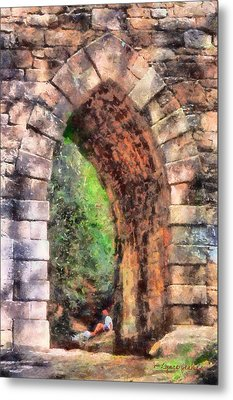 Portal Into Summertime Metal Print