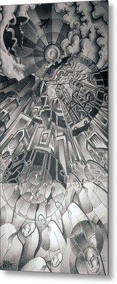Portals Metal Print