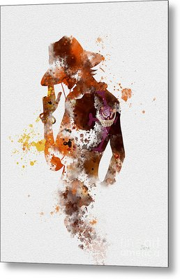 Portgas D. Ace Metal Print