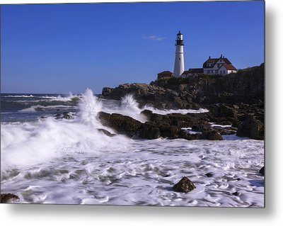 Portland Head Light I Metal Print by Chad Dutson