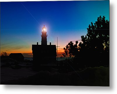 Portland Head Light - Maine Metal Print by Joann Vitali