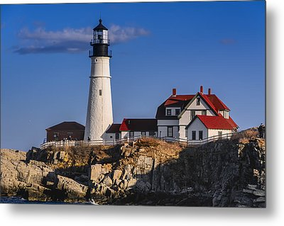 Portland Head Light No. 43 Metal Print by Mark Myhaver