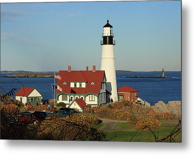 Portland Head Lighthouse 2 Metal Print by Lou Ford