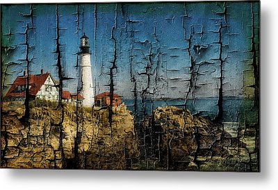 Portland Head Lighthouse 5 Metal Print