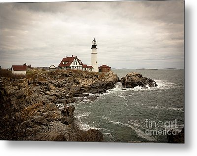 Portland Head Lighthouse Metal Print by A New Focus Photography