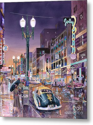 Portland's Jolly Joans Metal Print by Mike Hill