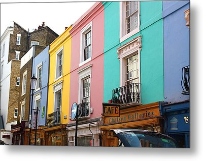 Portobello Road 02 Metal Print by Yvonne Ayoub