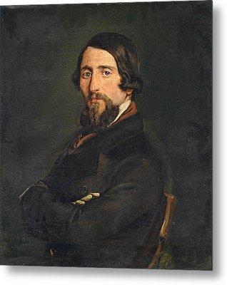 Portrait Of A Gentleman Metal Print by Francesco Hayez