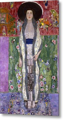 Portrait Of Adele Bloch-bauer II Metal Print by Gustav Klimt