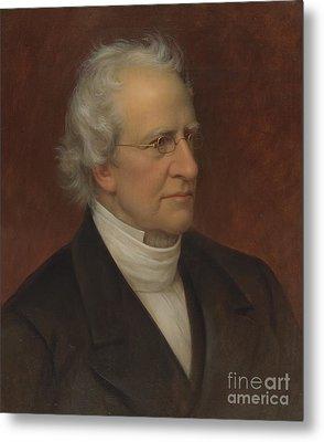 Portrait Of Charles Hodge Metal Print