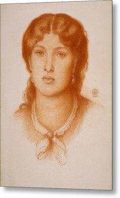Portrait Of Fanny Cornforth Metal Print