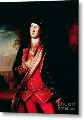 Portrait Of George Washington Metal Print