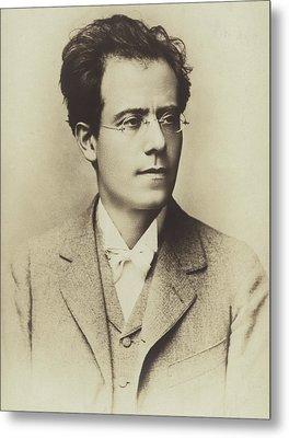 Portrait Of Gustav Mahler Metal Print by Austrian School