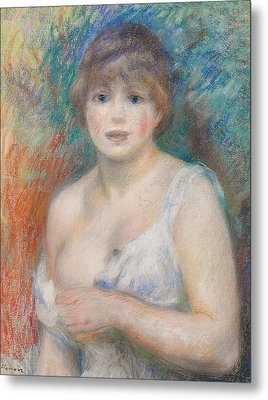 Portrait Of Jeanne Samary Metal Print