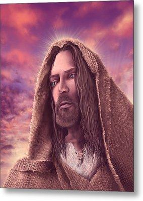 Portrait Of Jesus Metal Print