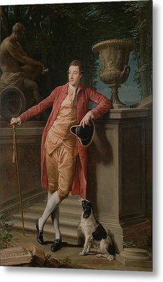 Portrait Of John Talbot - Later 1st Earl Talbot Metal Print by Mountain Dreams