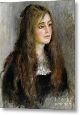 Portrait Of Julie Manet  Metal Print