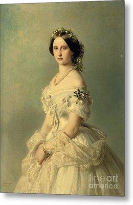Portrait Of Princess Of Baden Metal Print