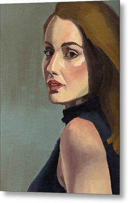Portrait Of Rachel Christine Metal Print