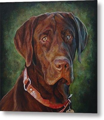 Portrait Of Remington 0094_2 Metal Print