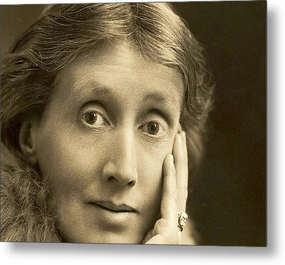Portrait Of Virginia Woolf, 1927 Metal Print