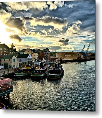 Portsmouth Harbor 2 Framed Print Can Be Seen On Set Of Abcs Desperate Housewives Metal Print