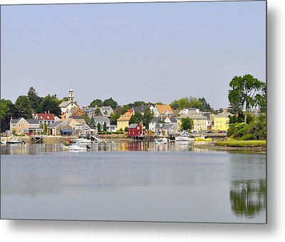 Portsmouth Nh South End Psep Metal Print