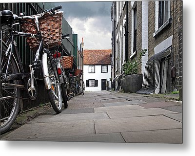 Metal Print featuring the photograph Portugal Place Cambridge by Gill Billington
