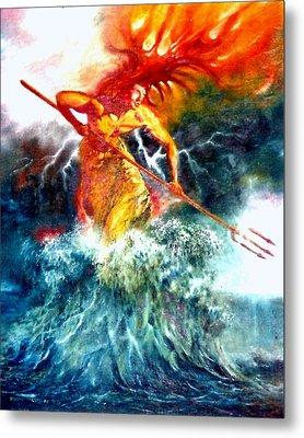 Poseidon Metal Print by Henryk Gorecki