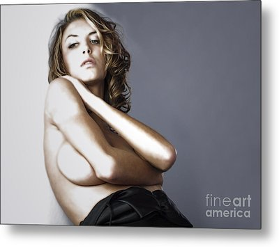 Metal Print featuring the photograph Posing For Thought  by Jacob Smith
