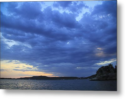 Possum Kingdom Blue Metal Print