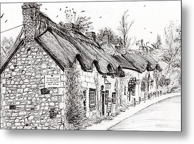 Post Office And Museum Metal Print by Vincent Alexander Booth