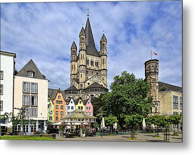 Postcard From Germany  Metal Print by Lanis Rossi