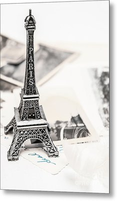 Postcards And Letters From Paris Metal Print by Jorgo Photography - Wall Art Gallery