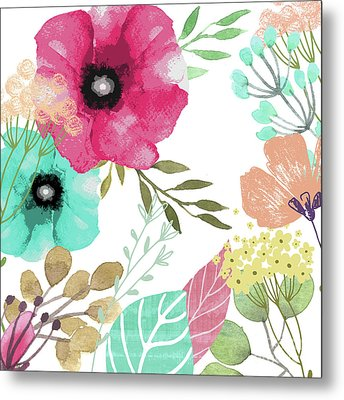 Posy Metal Print by Mindy Sommers