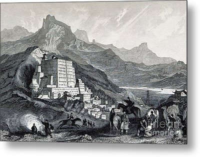 Potala Palace, 19th Century Metal Print by British Library