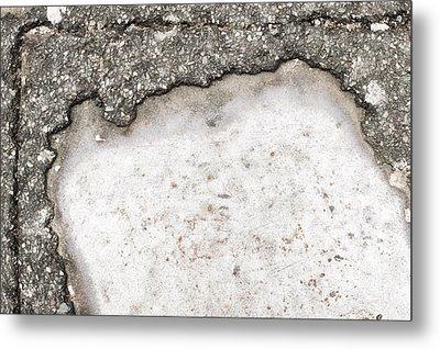 Pothole Metal Print