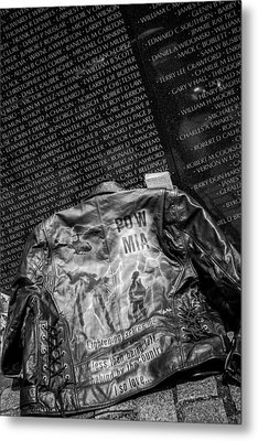 Pow Mia Never Forget Metal Print