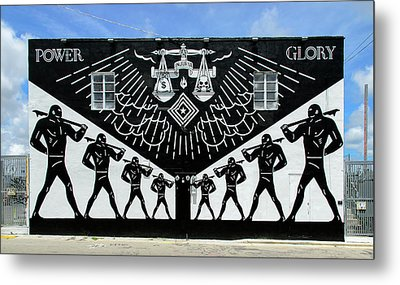 Power And Glory Metal Print by Keith Armstrong