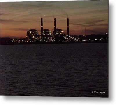 Metal Print featuring the photograph Power In The Dark by Betty Northcutt