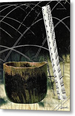 Power Lines Metal Print by Sarah Loft