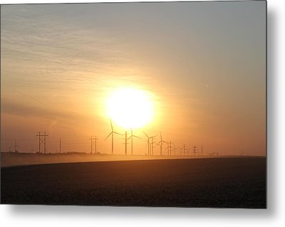 Power Of Change Metal Print