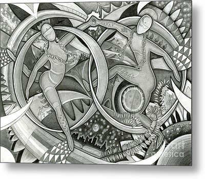 Power Of The Dance - Anniversary Metal Print