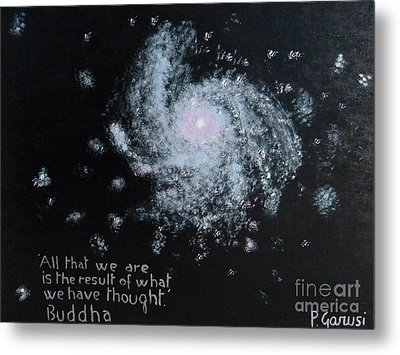Power Of Thought Metal Print by Piercarla Garusi
