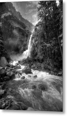 Power Of Water Metal Print by Edward Kreis